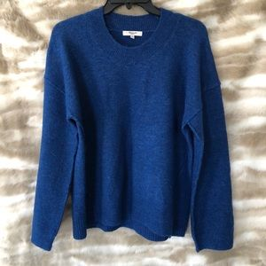 Madewell Blue Wool Sweater